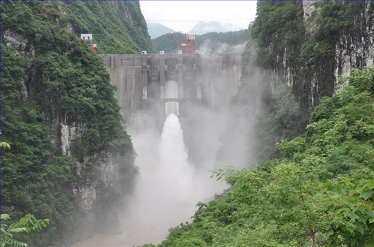Hydropower Station of Shi Yazi
