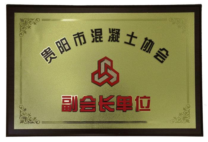 贵阳市混凝土协会副会长单位